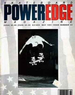 A classic power edge cover from 1990, only seems right for our first insta post! Free t shirt for first person to name this skater!