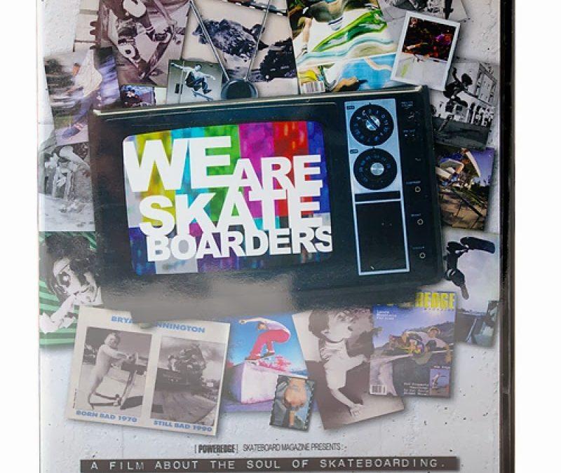 WE ARE SKATEBOARDERS TRAILER