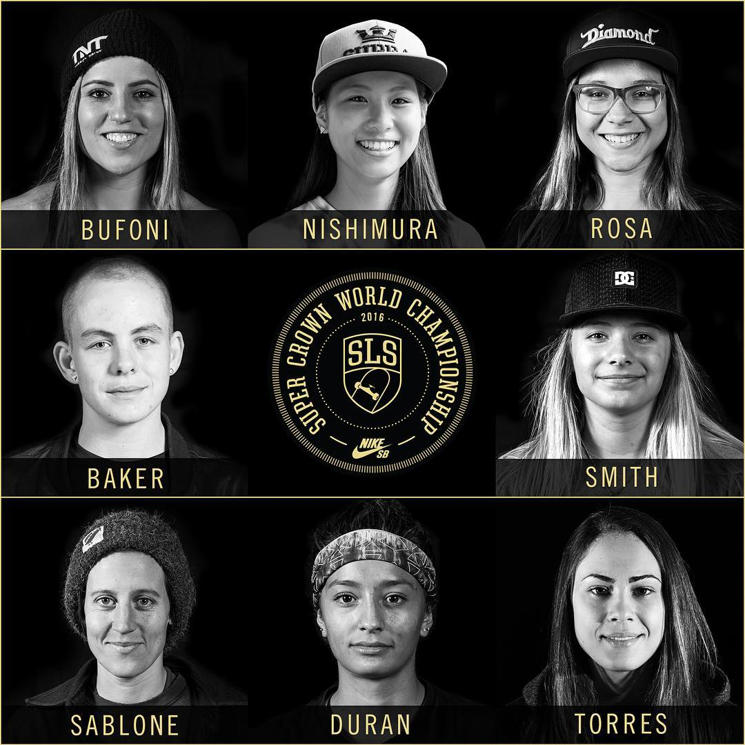 2016 Street League SuperCrown Women's Finals (LA) Full Video