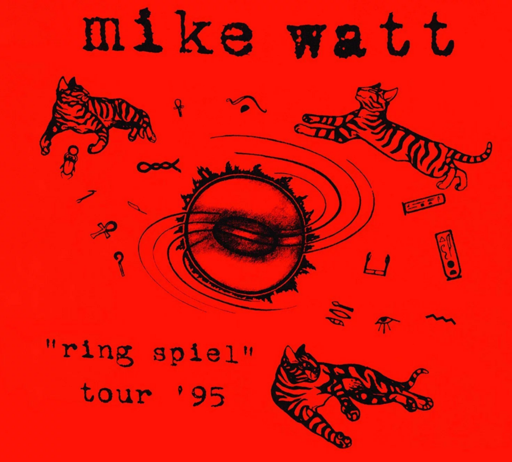 Mike Watt New Live Album; Vedder, Grohl, Pat Smear c.1995