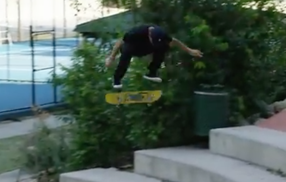 Evan Smith's DC SHOES Video is a mini film; Click Video