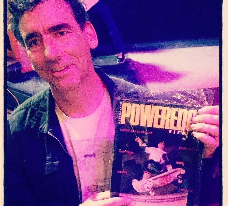 Mountain holding his Power Edge cover shot.