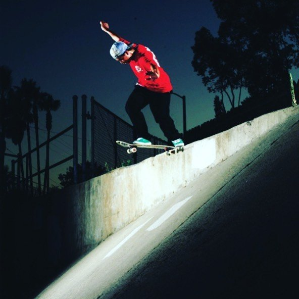 willysantos Drops in ala tail slide