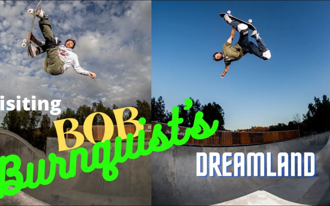 Buckey Lasek Takes a Tour of Bob Burnquist's Dream Land Skatepark (And SHREDS It)