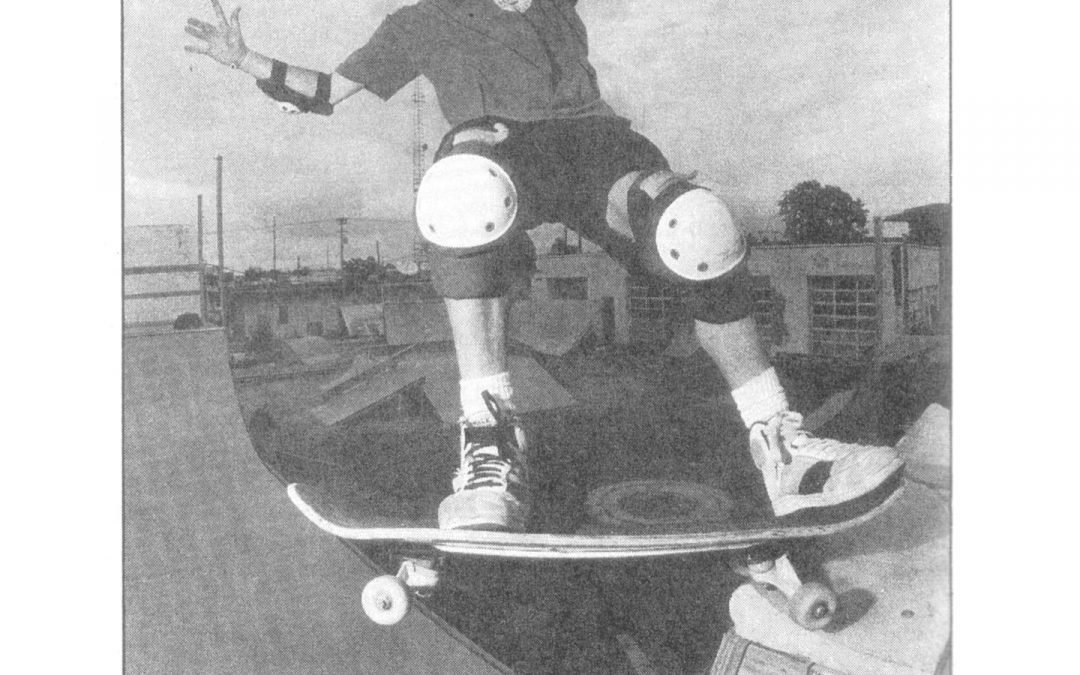@robdyrdek in circa 1990. Name spelled wrong but that's ok we think.